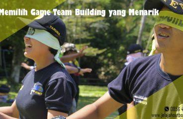 Memilih Game Outbound Team Building