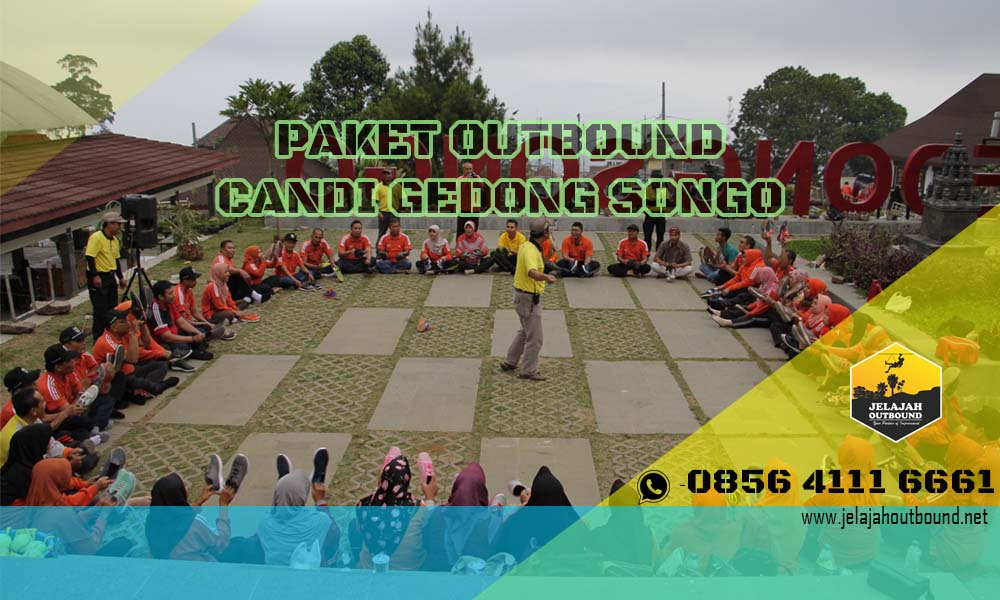 paket outbound candi gedong songo