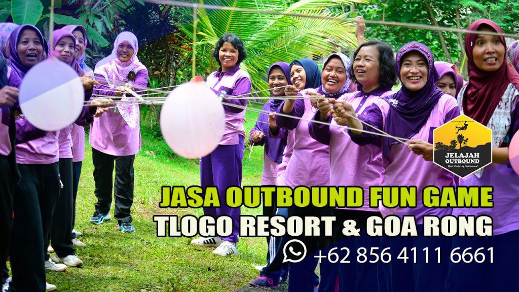 Fun Outbound di Tlogo Resort